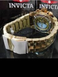 Relógio invicta aço inoxidável novo