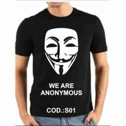 Título do anúncio: Camiseta We're Anonymous