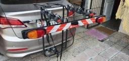 Transbike de reboque com régua para placa. Marca Altmayer