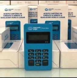 Maquininha point mini D150 mercado pago novo na caixa