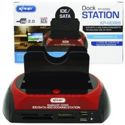 Dock Station All In 1 Hdd Sata 2.5 3.5 E Ide 3.5 Ssd Usb 2.0
