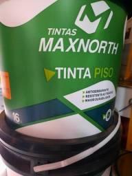 Oferta tinta piso cinza medio ou chumbo 16L na Cuiabá tintas. Imperdível!!!
