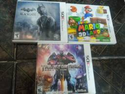 Lote 3 jogos 3ds original