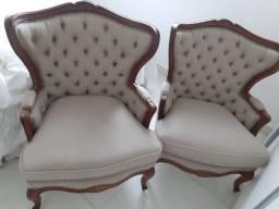PAR de cadeiras Luis xv