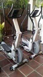Aparelhos de musculação elíptico EL570 movimento bike BM 2800