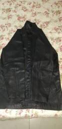 jaqueta toda em couro legítimo
