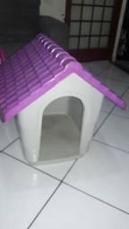 Casinha Rosa cachorra porte médio