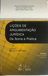 Lições de Argumentação Jurídica(novo) e Curso de Português Jurídico (ótimo estado)
