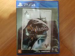 Batman Return to Arkham ps4 Lacrado Leia o Anuncio