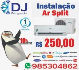 Conserto e instalação de ar condicionado