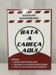 Quadro enfeite COISAS DE BOTECO