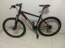 Bicicleta Venzo ARO 29, 27v, kit alívio, freio hidráulico e susp. c/ trava