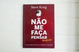 Livro: Não me faça pensar - Atualizado - Steve Krug