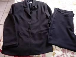 Conjunto feminino calça e Blazer tamanho GG