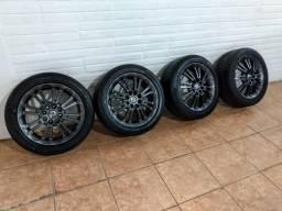 Barbada! rodas 15 liga com pneus
