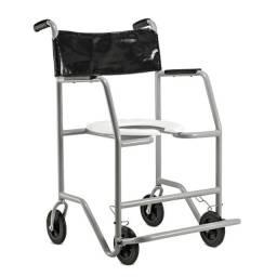 Cadeira de rodas para banho - Usuário até 130kg
