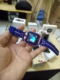 Vendo smartwatch localizador de criança com gps promoção só 125.00 aceito cartao c/juro