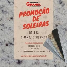SOLEIRAS EM PROMOÇÃO 0,80x0,16 Dallas
