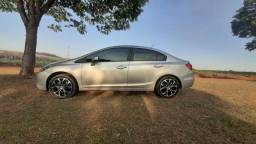 Vendo Honda Civic 2.0 FlexOne ou troco por Fit automático - 2014