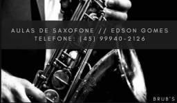 Aula de saxofone  / eventos em geral