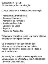 Vagas em Fortaleza