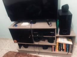 Rack com suporte para TV