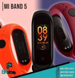 Smartband Xiaomi Mi Band 5 original lacrado (Ac. Cartão)