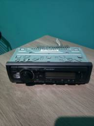 Som automotivo pioneer S218BT com Bluetooth