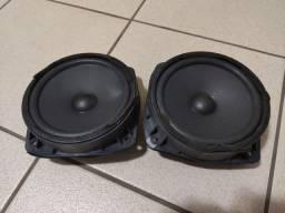 Par de auto falantes de 6 polegadas - Chevrolet
