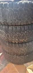 vendo pneus usados 265/70 R16 remold