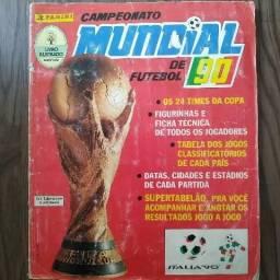 Álbum Copa do Mundo 1990 - ORIGINAL e COMPLETO
