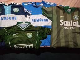 Camisas do Palmeiras 4 por 100