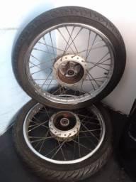 Moto Roda 18 - completo