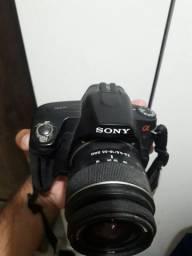 Câmera fotográfica e Tv