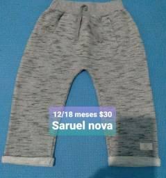 Calça infantil Saruel