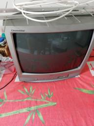 TV modelo antigo mais nunca deu defeito com conversor digital e antena