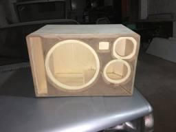 Vendo caixa seca para Mb, corneta e Twitter