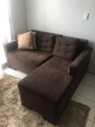 Sofá de 1,60x 90 cm com Chaise