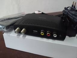 Vendo ou Troco Box Coversor HDTV + Antena Digital