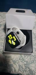 Relógio Inteligente W26 Smartwatch Esportes Bluetooth Branco<br><br>