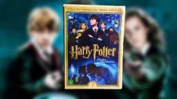 Dvd Harry Potter E A Pedra Filosofal - dois discos