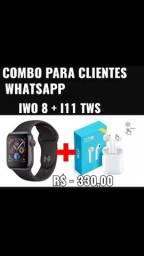 Iwo 8 + fone I 11 tws 5.0