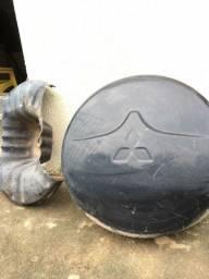 Protetor suporte e bagageiro pajero full