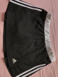 Short saia adidas original tamanho P/M