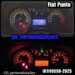 Painel Fiat Punto /Siena comprar usado  Paulista