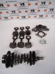 Kit Motor Santa Fé 2.7 V6 (Virabrequim/Pistão C/ Biela/Bomba Óleo/Retentor/Bronzinas)