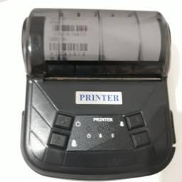 Impressora térmica Printer nova completa carregador, cabo usb excelente oportunidade