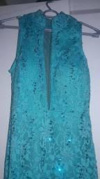 Vestido azul Tiffany M.