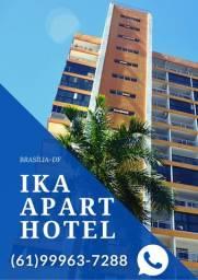 Apartamentos no centro de Brasília para hospedagens no Ed. Garvey Park Hotel