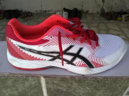 Tênis n° 44 Asics Gel-Task Masculino Branco+Vermelho